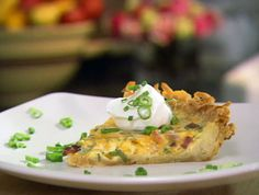 Hash Brown Quiche from FoodNetwork.com