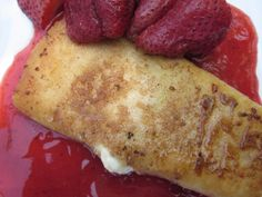 Food Fashion and Flow: Strawberry Cheesecake Chimichangas