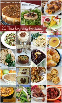 holiday, food recip, recip roundup, thanksgiv recip, fall, mini pumpkin, thanksgiving recipes, pumpkin cheesecake, 20 thanksgiv