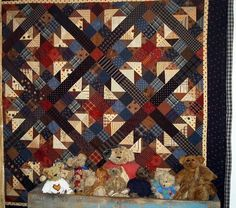 Primitive Pieces by Lynda > Patterns > PPL017 Boogey Bears
