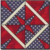 quilt blocks, quilt idea, patriot quilt, courag quilt