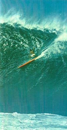 Old hawaii: Waimea Surf, 1960s.