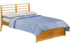 Jasmine Platform Bed Frame Oak