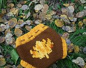 Small Fall Maple Leaf Embellished Nighttime Wool & Mohair Diaper Cover Soaker by Lagamorphlounge on Etsy. $35.00