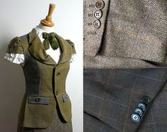 Never Throw Away Old Suits! Old suits can be such a treasure that it should be banned to throw them away!