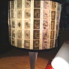 film lamp shade.