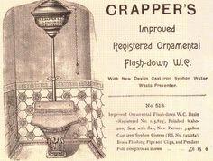 Vintage Crapper's Ad