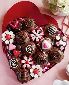 Valentine Cupcakes   ♥