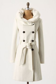 Anthropologie Lapel Coat $198.00