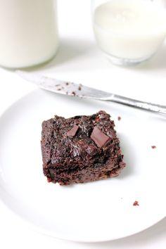 chocolate zucchini brownies.