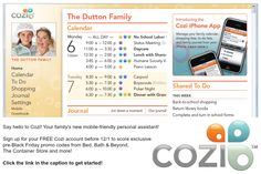 GET ORGANIZED: Streamline your family's schedule with help from our friends at @cozi | Sign up for a ‪free‬ @cozi account before 12/1 and you'll score promo codes to cash in on ‪#‎BlackFriday‬ ‪#‎deals‬ NOW.