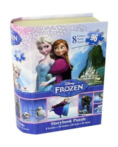 Frozen Story Book Puzzle