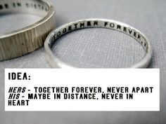 anniversary rings, quot idea, promise ring quotes, sterling silver, long distance, bible verses, wedding rings, promis ring, promise rings