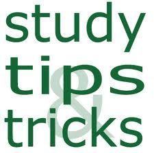 Helpful studying tips