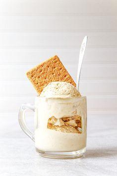 Graham cracker ice cream @dessertfortwo