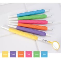 ergonomic  awesome colors dental-hygiene-findings