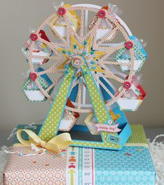 Hello, Melanie Fink! You are amazing! Love this ferris wheel you paper crafted. In a word: incredible!