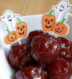 Happier Than A Pig In Mud: Bourbon Whiskey Meatballs-Crock Pot or Oven