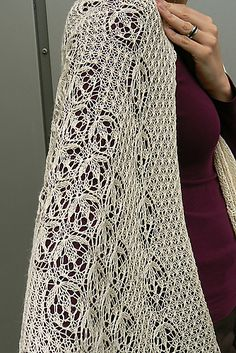 a stole to die for, free pattern