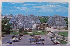 Wisconsin Wi Milwaukee Mitchell Park Conservatory Postcard Old Vintage Card View | eBay