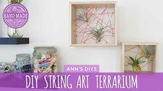 DIY String Art Terrarium - HGTV Handmade