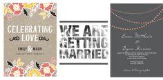 affordable wedding invitations | affordable save the dates | fun wedding invites | custom wedding invitations | wedding invitation ideas