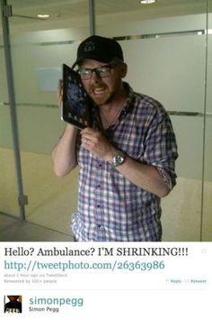 Simon Pegg! :-)