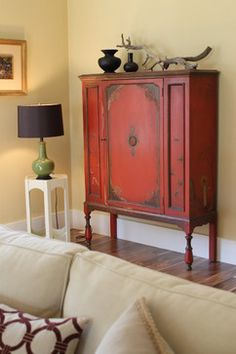 decor, living rooms, vintage, asian room, asian cabinet