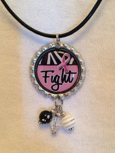 Breast Cancer awareness necklaces