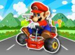 Super Mario ha deciso di partecipare ad una gara e dopo aver superato le selezioni, si trova a sfidare persone molto capaci. Aiutalo a vincere usando le frecce e la barra space.