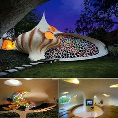Great house seashell shape nautical  design from Mexico.