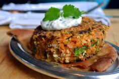 Spicy Moroccan Fresh Salmon Patties