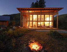 Twisp cabin    johnstonarchitects  (Photo's from Johnston Architects).