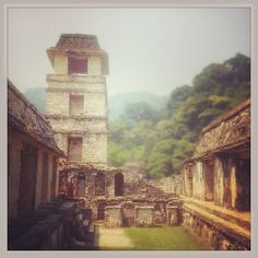 Astronomical tower #mexico #palenque #mextagram #mayas (en Palenque)