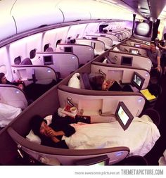 Heaven on a plane. every flight should be like this
