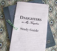 Daughters in My Kingdom Study Guide
