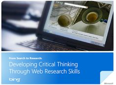 developing critical thinking through web research skills