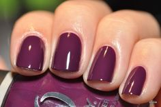 shades, winter, nail polish, plum noir, nailpolish