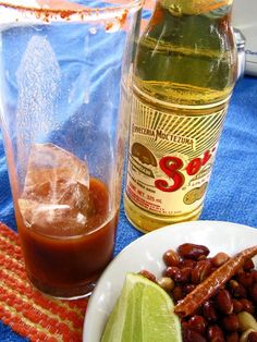 The Mexican Michelada - the best beer drink in the world! Have you had it?? Full recipe inside!