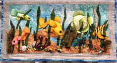intern quilt, art quilt, quilti thing, festivals, quilt festiv, quilts, milli bogdanovich, fish quilt, lets go