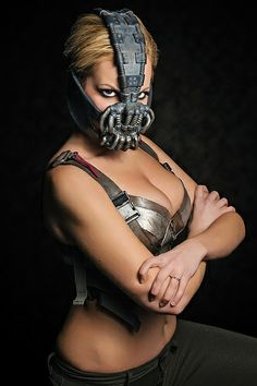 Lady Bane from The Dark Knight Rises by Nicole Marie Jean - ComicPalooza 2013