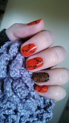 More Halloween nails :)