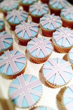 rimmel london union jack cupcakes
