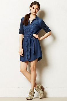 Broadcast Chambray Shirtdress / anthropologie.com