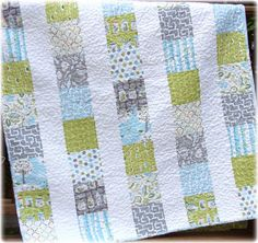 Backyard Baby Boy Quilt CUTE Custom Made to ORDER. $140.00, via Etsy.
