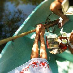 canoe picnics.