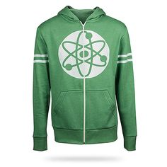ThinkGeek :: Big Bang Theory Atom Hoodie