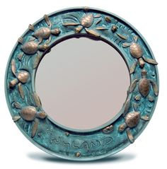 Wyland turtle mirror - on wish list