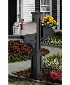 flower box mailbox