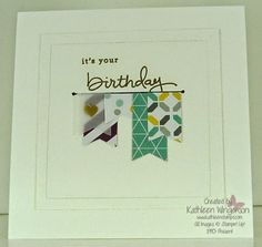 Endless Birthday Wishes -- Stampin' Up!